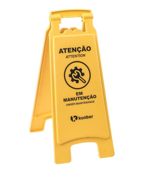PLACA SINALIZADORA EM MANUTENÇÃO REF. 14102